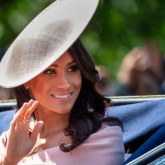 Meghan Markle's First Major Post-Baby Outing at Trooping the Colour 2019 Looked Like a Lot of Fun